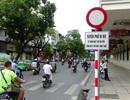 Hà Nội cấm ô tô hoạt động hàng loạt tuyến phố quanh Hồ Gươm