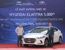 5.000 chiếc Hyundai Elantra xuất xưởng tại Việt Nam chỉ trong 7 tháng