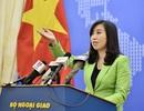 Việt Nam lên tiếng việc Trung Quốc gia tăng hoạt động quân sự ở Biển Đông