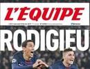 Báo chí thế giới sốc vì thất bại của Barcelona trước PSG