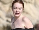 Lindsay Lohan lộ gương mặt già nua so với tuổi 30