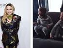 Madonna lần đầu khoe hai con nuôi da màu