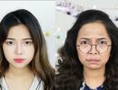 """Nữ sinh Việt trổ tài hoá trang thành diễn viên """"Sống chung với mẹ chồng"""""""