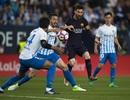 Neymar bị đuổi, Barcelona gục ngã trước Malaga