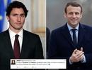 Dân mạng tranh luận về vẻ điển trai của Tổng thống đắc cử Pháp và Thủ tướng Canada