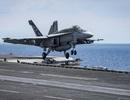 Máy bay Mỹ gặp nạn khi hạ cánh xuống tàu sân bay trên đường tới bán đảo Triều Tiên