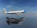Tổng thống Mỹ mang theo cả phi đội máy bay khi công du