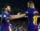 Barcelona 5-0 Espanyol: Cú hattrick của Messi