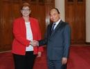 Bộ trưởng Quốc phòng Australia thăm Việt Nam, thúc đẩy quan hệ quốc phòng