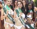 Hà Thu trượt top 3 phần thi trình diễn áo tắm tại Hoa hậu Trái đất