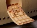 Vi diệu chiếc máy bay giấy mất 9 năm để hoàn thành, không khác gì máy bay thật