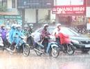 Miền Bắc còn mưa giông diện rộng hết ngày hôm nay