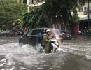 Hà Nội ngập, tắc nhiều nơi sau trận mưa lớn diện rộng