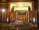 Ngai vàng triều Nguyễn đã về lại điện Thái Hòa