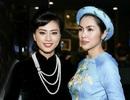 Hà Tăng diện áo dài tha thướt chúc mừng Ngô Thanh Vân