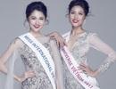 Bận thi Miss Universe, Nguyễn Thị Loan vẫn chúc Thuỳ Dung trước giờ G Miss International