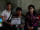 Trao tiếp gần 37 triệu đồng đến mẹ con cô Chu Thị Liêm