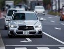 Infiniti Q50 tự lái xuất hiện trên đường phố Tokyo