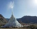 Ấn Độ xây dựng tháp băng nhân tạo giữa sa mạc