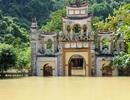 Danh thắng Tràng An vẫn còn ngập lụt chưa thể đón khách
