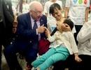 Tổng thống Israel thăm hỏi trẻ em khuyết tật TPHCM