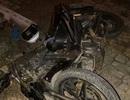 """Bị phát hiện """"xe dù"""",  tài xế đâm nát xe máy, gãy chân nạn nhân, rồi bỏ trốn"""