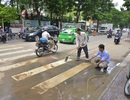 """Ông Đoàn Ngọc Hải gọi điện yêu cầu phạt ngay đơn vị """"rải"""" bùn ra đường"""