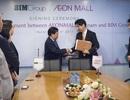 BIM Group đối tác vàng của Aeon Mall Vietnam