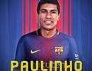 Chi 40 triệu euro, Barcelona chính thức sở hữu Paulinho
