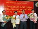Ban Tổ chức Trung ương chọn được 3 vụ trưởng thông qua thi tuyển
