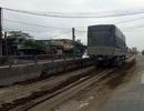 Trích xuất camera bắt xe tải đổ hàng chục khối phân bò trên quốc lộ