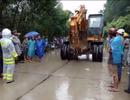 Dân dựng lều phản đối xây dựng bãi rác tạm