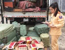 Bắt xe tải vận chuyển hơn 7000 quả pháo lậu