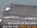 Toàn cảnh trục vớt phà Sewol ở độ sâu 40m