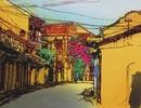 Triển lãm tranh nhuộm độc đáo của họa sĩ người Nhật tại Đà Nẵng