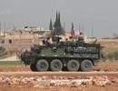 Đưa xe Stryker đến Syria và thừa nhận của Mỹ
