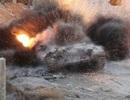T-72 bị đánh bay giáp trên chiến trường Syria?