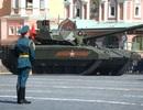 Xe tăng Mỹ đốt cháy Armata bằng vũ khí laser (?)