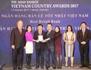 Vinh danh ngân hàng bán lẻ tốt nhất Việt Nam 2017