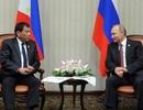 Philippines hướng về Nga khi không vừa lòng Mỹ-Trung