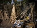 Kinh dị ngôi làng để xác chết thối rữa dưới gốc cây