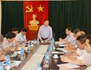 Thứ trưởng Bùi Văn Ga kiểm tra công tác chuẩn bị thi tại Ninh Bình