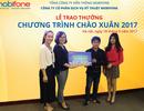 MobiFone trao 10 lượng vàng SJC 9999 cho khách trúng thưởng