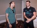 Beckham bất ngờ ghé thăm thầy trò Zinedine Zidane