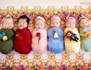 Đáng yêu chùm ảnh 6 cô công chúa nhỏ