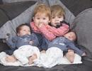 Bà mẹ 1 năm sinh đôi đến 2 lần gây choáng mạng xã hội
