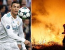 Xúc động khi C.Ronaldo trả viện phí cho hàng trăm nạn nhân tại quê nhà