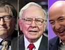 Tỷ phú Bill Gates, Jeff Bezos và Warren Buffett giàu hơn 160 triệu người Mỹ cộng lại