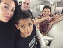 Bạn gái C.Ronaldo ghi điểm với hành động ngọt ngào nơi hậu phương