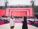"""Thu Minh """"bay"""" trong buổi tổng duyệt Đại Nhạc Hội VInID Đại Hỷ Xuân 2017"""